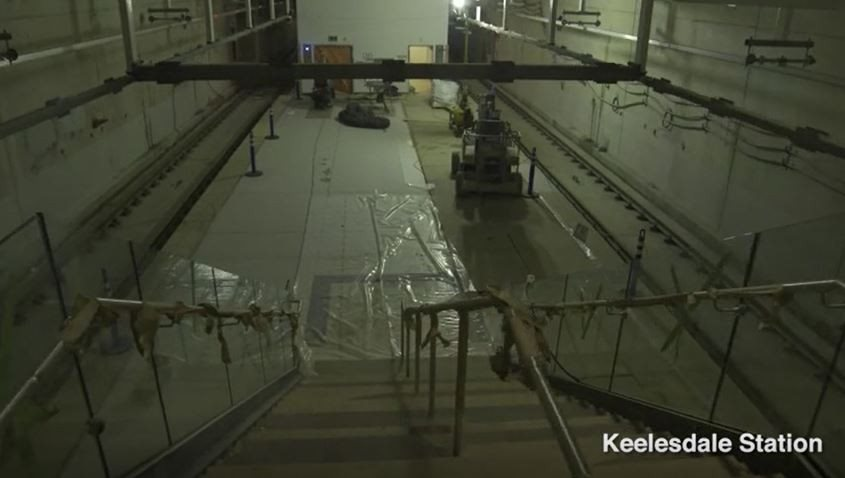 New station walkthrough video brings Toronto's Eglinton Crosstown LRT to life