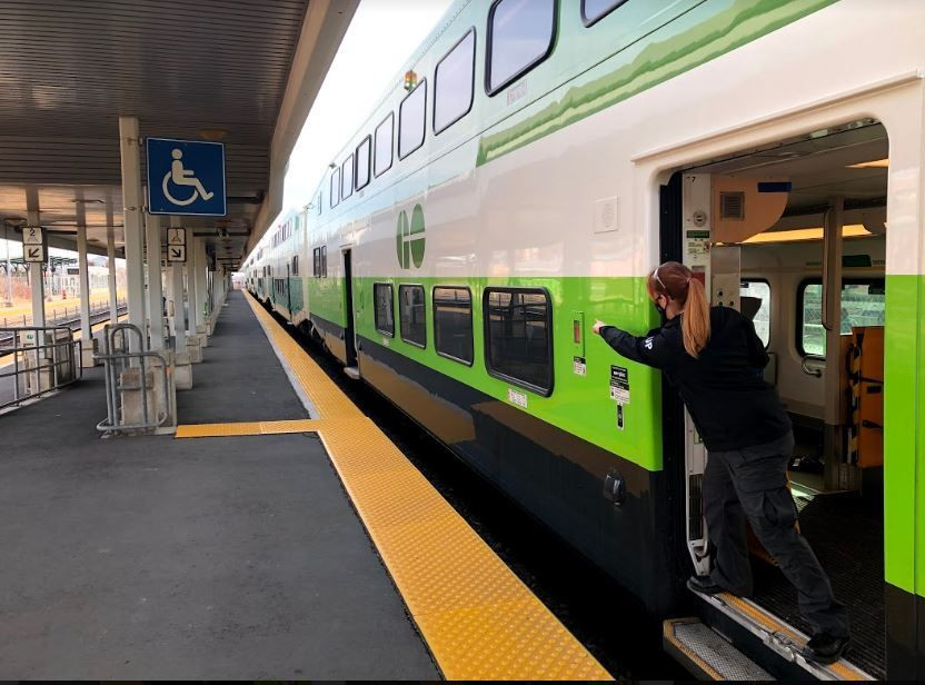 Point and Call – Metrolinx introduces the practice of Shisa Kanko to GO Transit trains