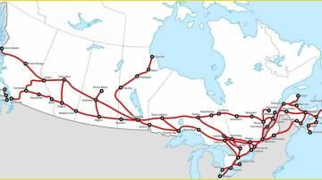 The History of VIA Rail Canada